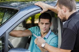 If you've been convicted of driving while under the influence, you will get points on your license. In California, a DUI is worth two points.
