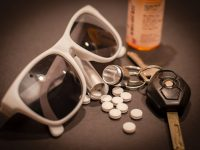 Pills, Sunglasses, and Car Keys