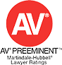 AV Preeminent Martindale-Hubbel Lawyer Ratings