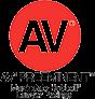 AV Preeminent Martindale-Hubbel Lawyer Ratings